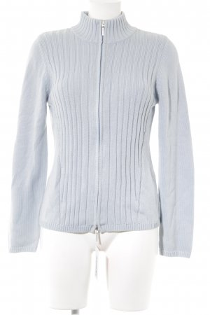 Gerry Weber Giacca in maglia celeste stile casual