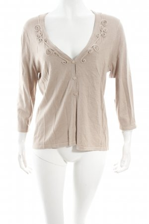 Gerry Weber Strickjacke beige Casual-Look