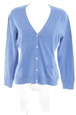 Gerry Weber Strickjacke blau Casual-Look