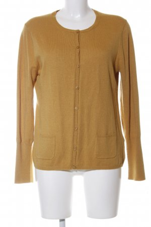Gerry Weber Strickjacke braun Casual-Look