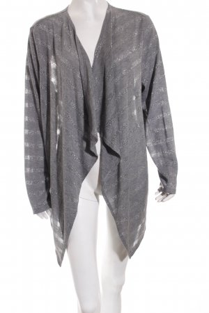 Gerry Weber Strickjacke grau-silberfarben Casual-Look