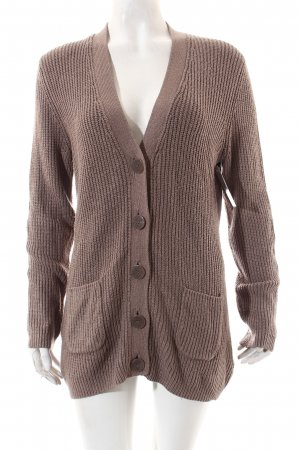 Gerry Weber Strickjacke hellbraun Casual-Look