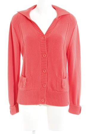 Gerry Weber Strickjacke hellrot Casual-Look