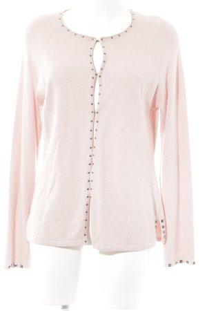 Gerry Weber Giacca in maglia rosa stile classico