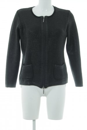 Gerry Weber Strickjacke schwarz Casual-Look