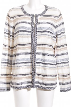 Gerry Weber Strickjacke Streifenmuster Casual-Look