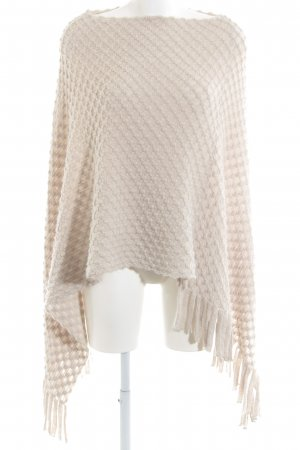 Gerry Weber Strickponcho hellgrau Casual-Look