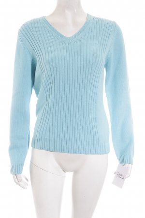Gerry Weber Strickpullover babyblau Casual-Look