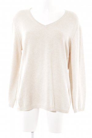 Gerry Weber Strickpullover creme Business-Look
