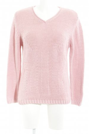 Gerry Weber Strickpullover rosa Casual-Look