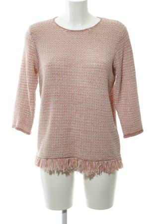 Gerry Weber Maglione lavorato a maglia rosa pallido-rosa stile casual