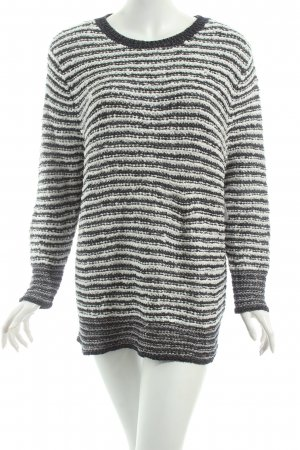 Gerry Weber Strickpullover schwarz-weiß Street-Fashion-Look
