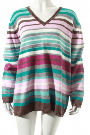 Gerry Weber Strickpullover Streifenmuster Casual-Look