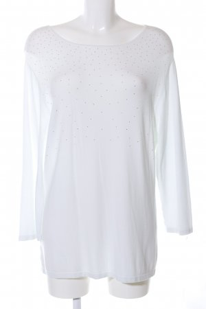 Gerry Weber Knitted Sweater natural white-silver-colored casual look