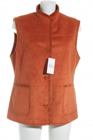 Gerry Weber Strickweste dunkelorange Casual-Look