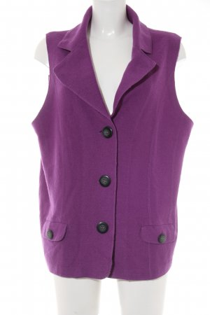 Gerry Weber Knitted Vest violet casual look
