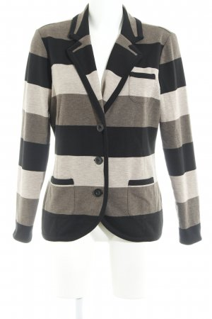 Gerry Weber Sweat Blazer horizontal stripes casual look