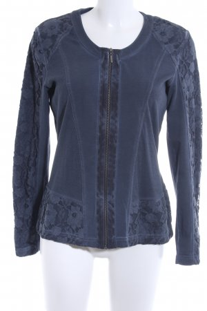Gerry Weber Giacca fitness blu scuro stile casual