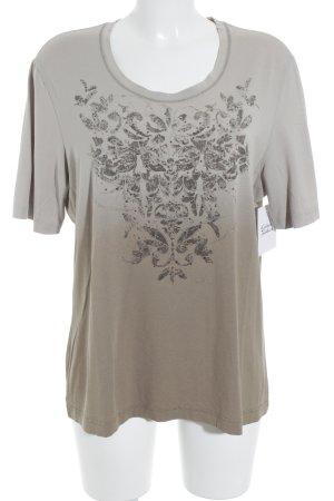 Gerry Weber T-Shirt creme-hellbraun Farbverlauf Street-Fashion-Look