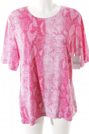 Gerry Weber T-Shirt magenta-rosa Animalmuster Animal-Look