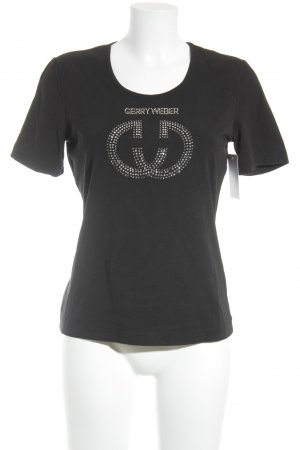 Gerry Weber T-Shirt schwarz Casual-Look