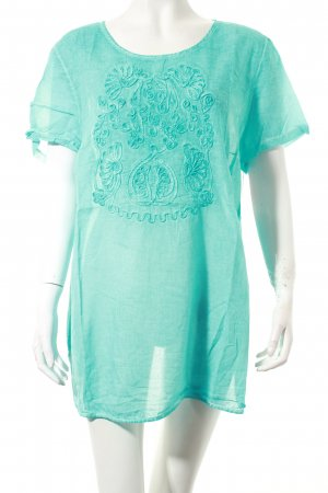 Gerry Weber T-Shirt türkis Boho-Look