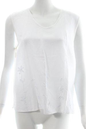 Gerry Weber Top weiß florales Muster klassischer Stil