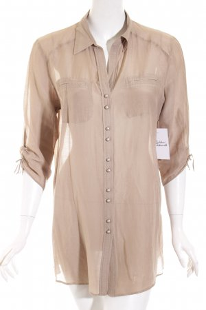 Gerry Weber Blusa a tunica beige stile casual