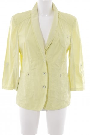 Gerry Weber Giacca mezza stagione giallo lime stile casual