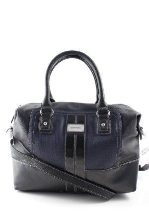 Gerry Weber Borsa a spalla nero-blu scuro stile casual