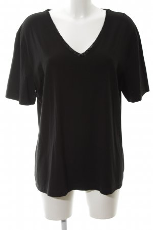 Gerry Weber V-Neck Shirt black casual look