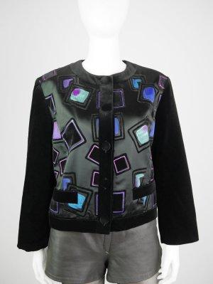 Gerry Weber Vintage Samt-Jacke mit Muster