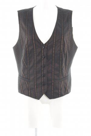 Gerry Weber Reversible Vest black-bronze-colored glittery