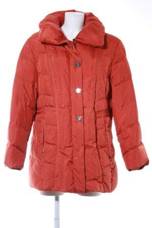 Gerry Weber Giacca invernale arancione scuro stile da moda di strada