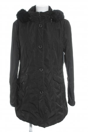 Gerry Weber Winterjacke schwarz Casual-Look