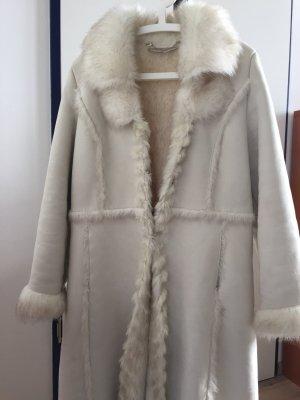 Gerry Weber Wintermantel Beige Fake Fur