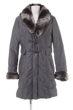 Gerry Weber Manteau d'hiver gris style décontracté