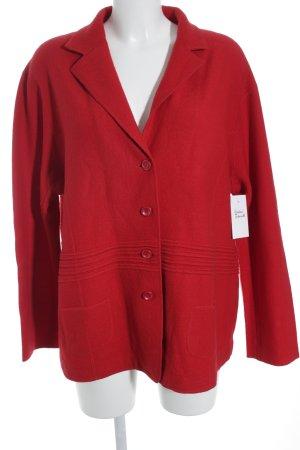 Gerry Weber Wool Blazer dark red classic style