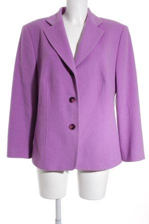 Gerry Weber Blazer in lana lilla stile classico
