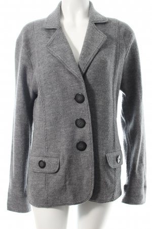 Gerry Weber Wool Blazer grey flecked simple style