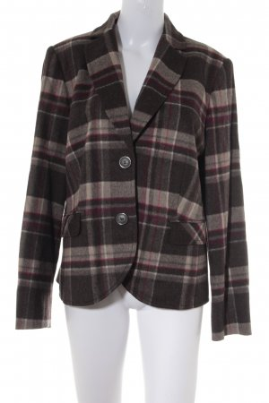 Gerry Weber Wool Blazer check pattern Brit look