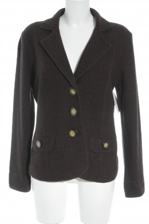 Gerry Weber Wool Blazer black brown casual look