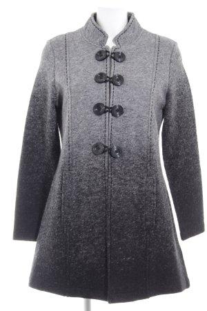 Gerry Weber Giacca di lana grigio scuro-grigio chiaro Colore sfumato