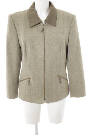 Gerry Weber Giacca di lana ocra-verde chiaro stile casual