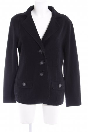 Gerry Weber Wolljacke schwarz Casual-Look