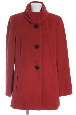 Gerry Weber Abrigo de lana rojo estilo clásico