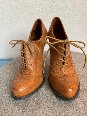 Aldo Lace-up Pumps brown leather