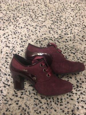 Geschnürte Schuhe von Loriblu in Bordeaux Gr.39