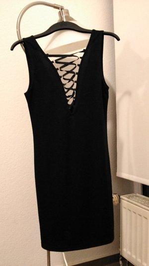 geschnürtes Kleid mit Rückenausschnitt 90er neunziger
