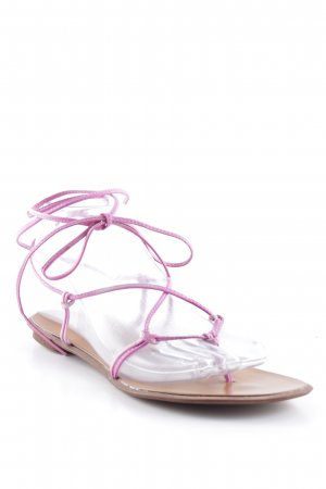 Geste Proposition Teenslippers bruin-roze Beach-look